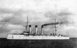 Cruiser Aurora, 1903