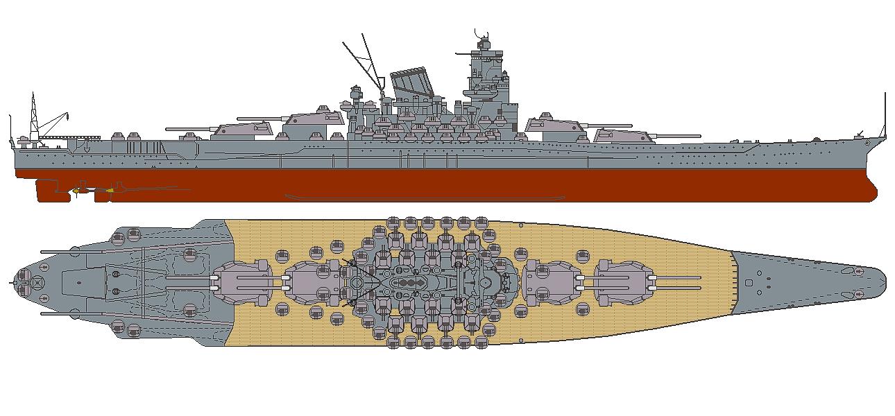 Yamato Vs Uss Iowa Battleship Craft