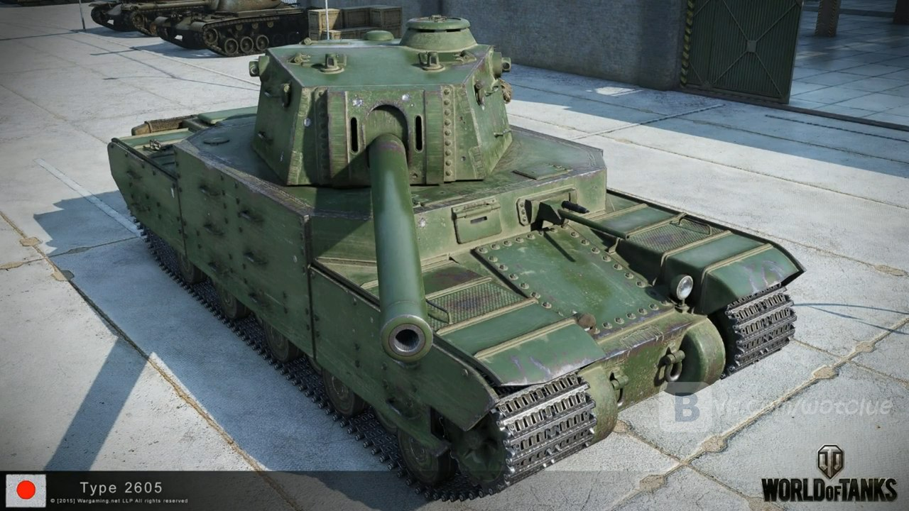 World of Tanks Japanese heavy tank tier 10 Type 2605 images