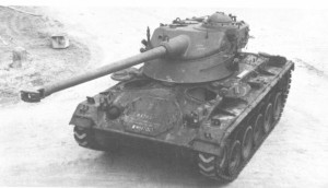 M-24 chaffee with F10 turret