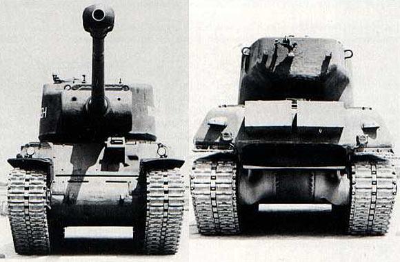 M6A2E1 prototype 1