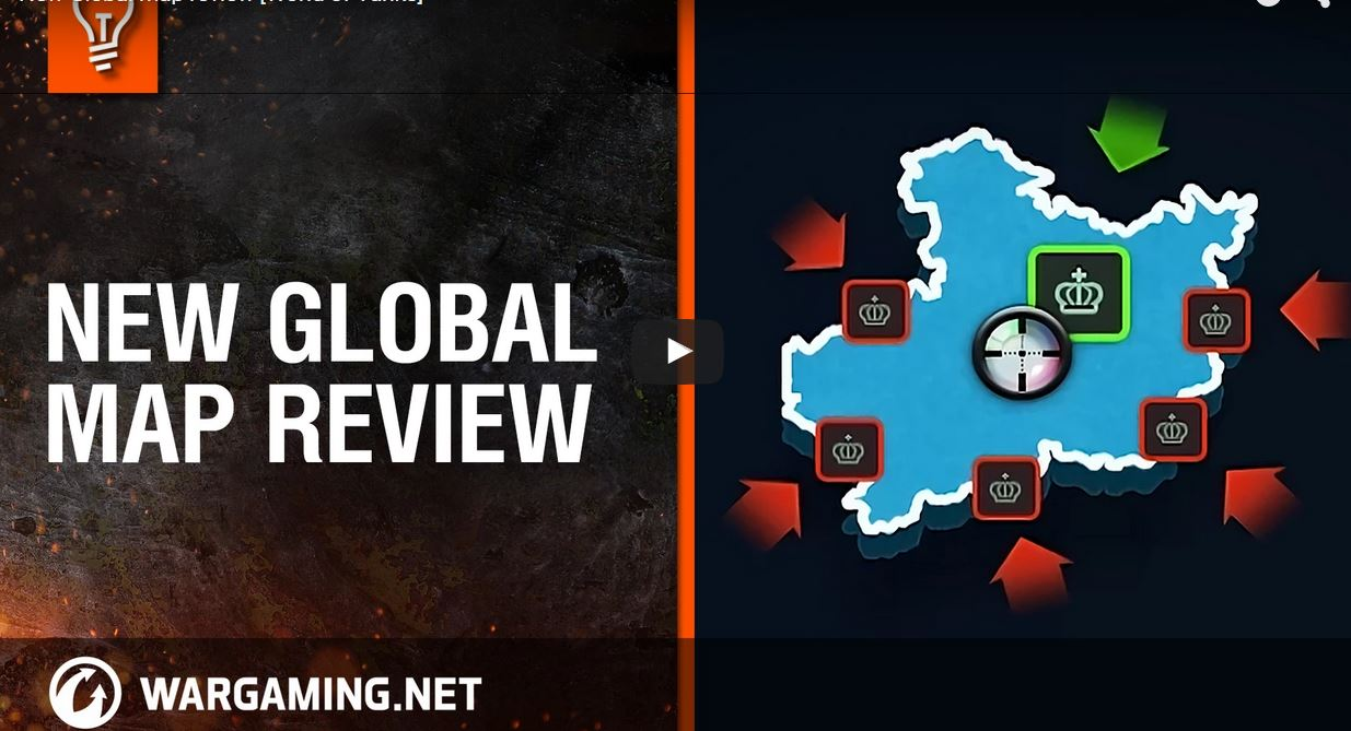 World of Tanks new Global Map 2.0 | MMOWG.net