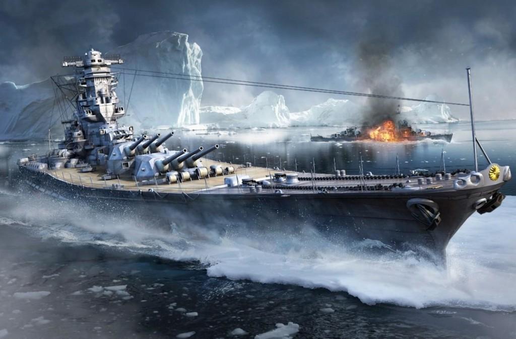 World Of Warship Yamato
