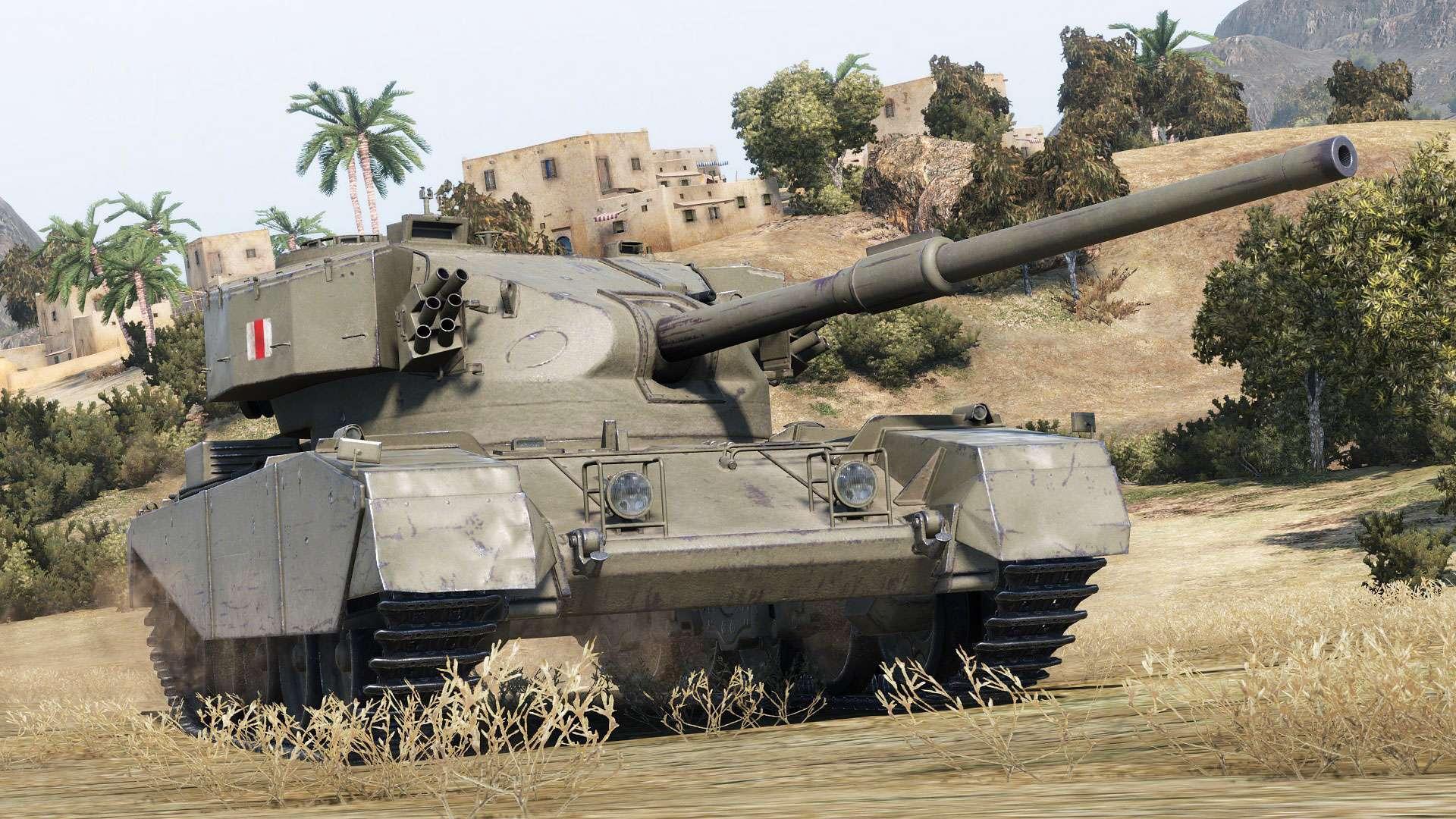 Fv4202 War Thunder