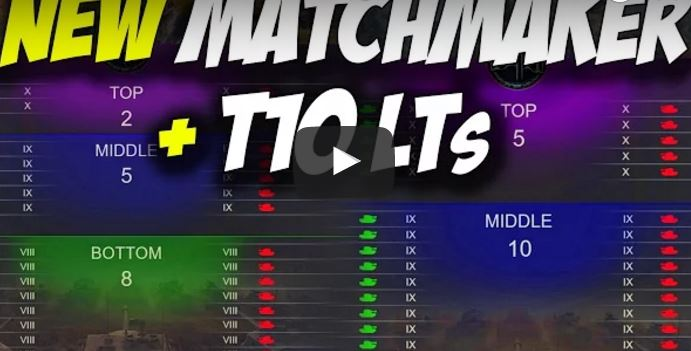 Wot tier matchmaking