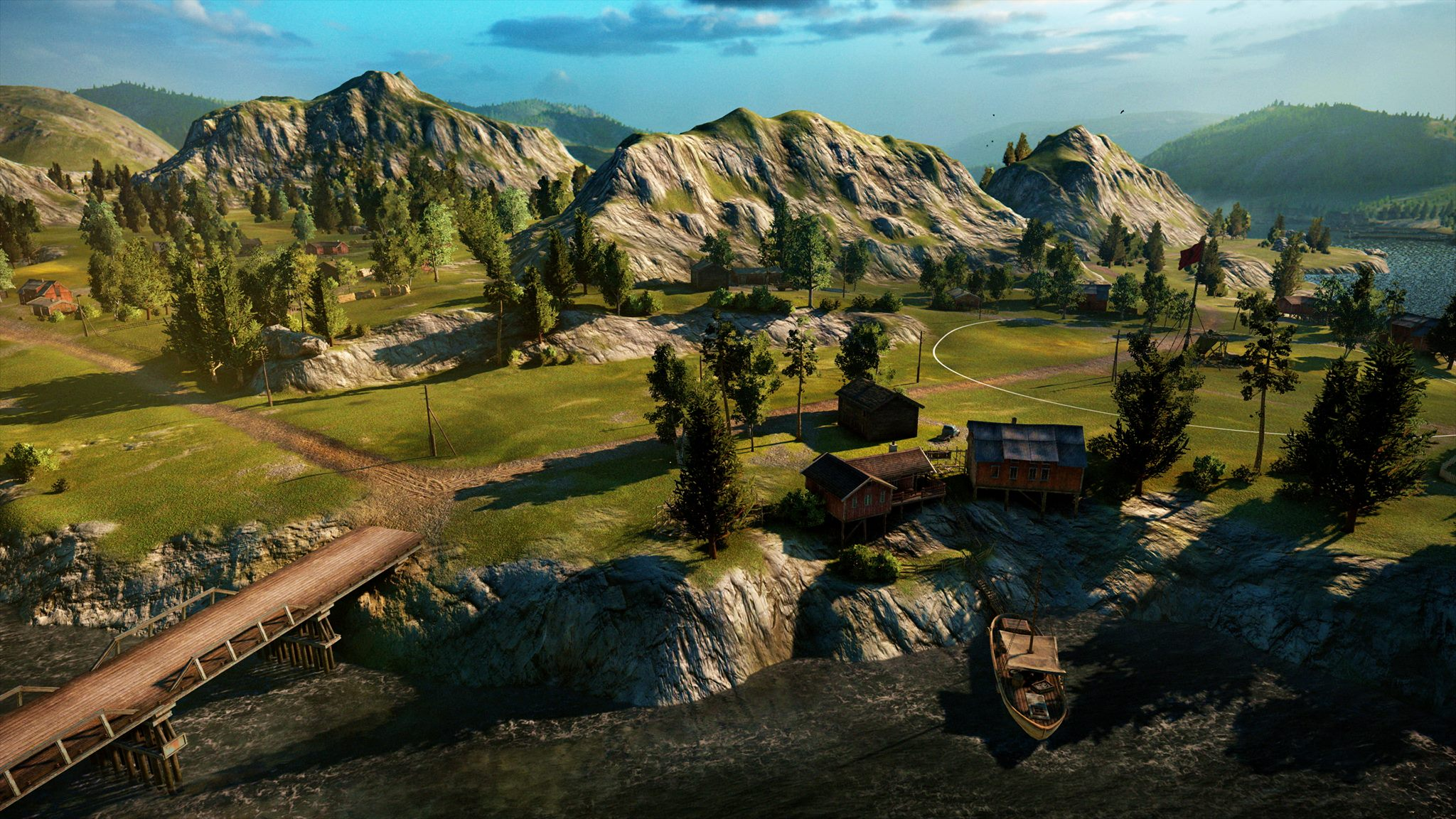 World of Tanks Console - Fjords map - pictures | MMOWG net