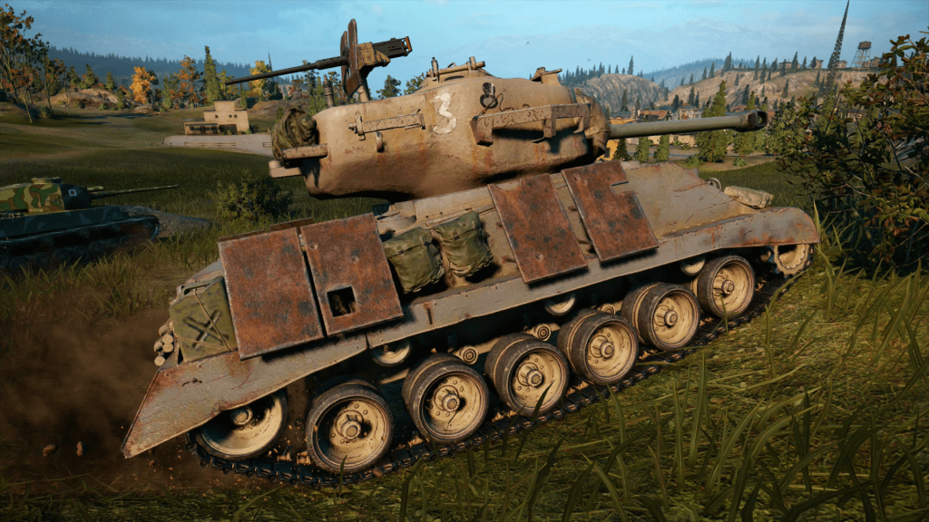World of Tanks Console - Mercenaries - devs choice a hard path