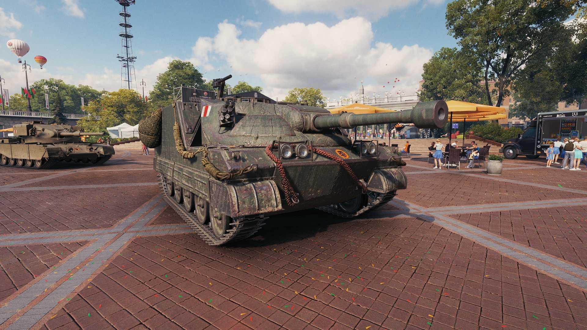 World of Tanks - Gamescom garage - day and night   MMOWG net