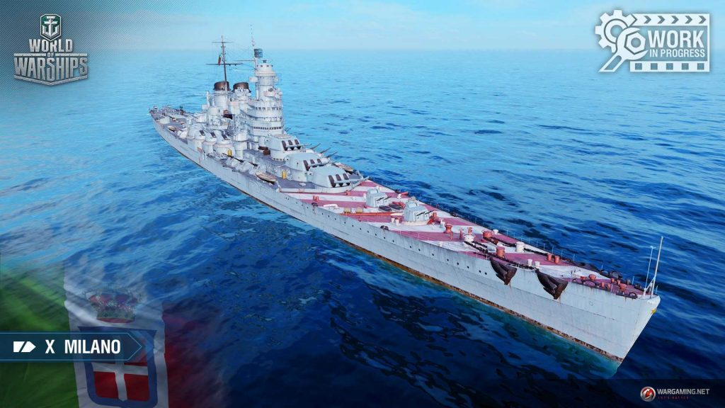 World of Warships ST - Italian cruiser branch - tier 8 9 and
