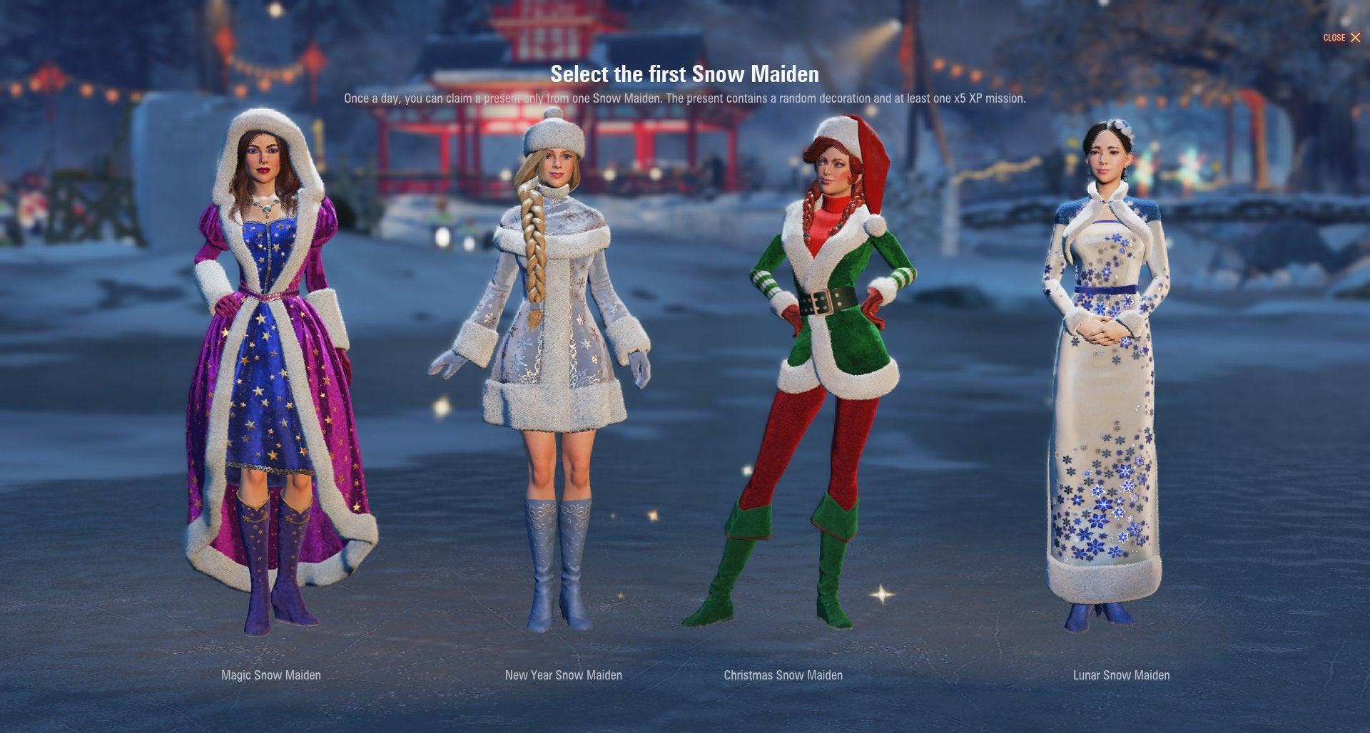 snow maidens