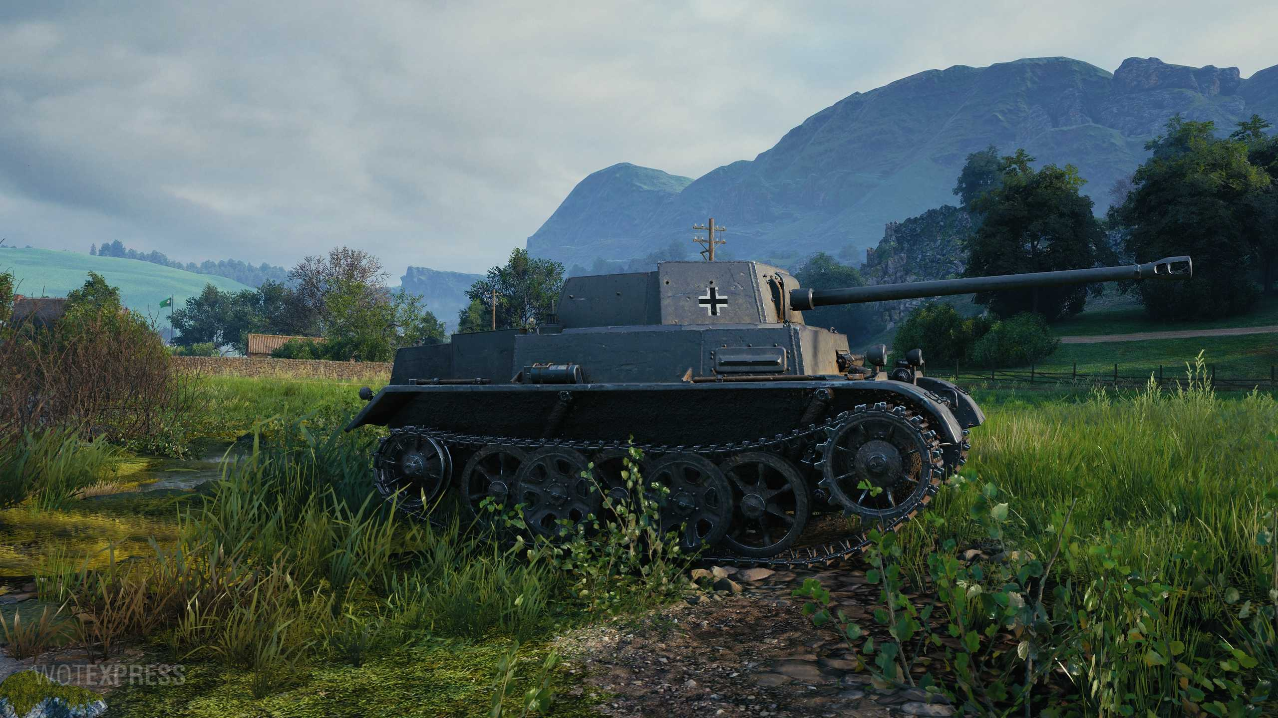 World of Tanks - Christmas 2020 - gift tank Pz Sfl Ic - new stats   MMOWG.net