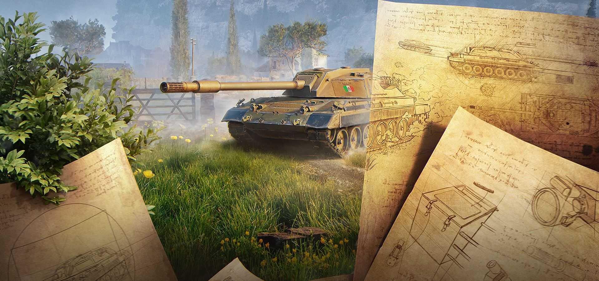 World of Tanks - Global Map - new event - Renaissance | MMOWG.net